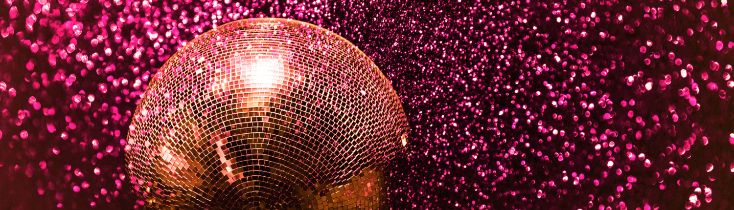 Discoball Red