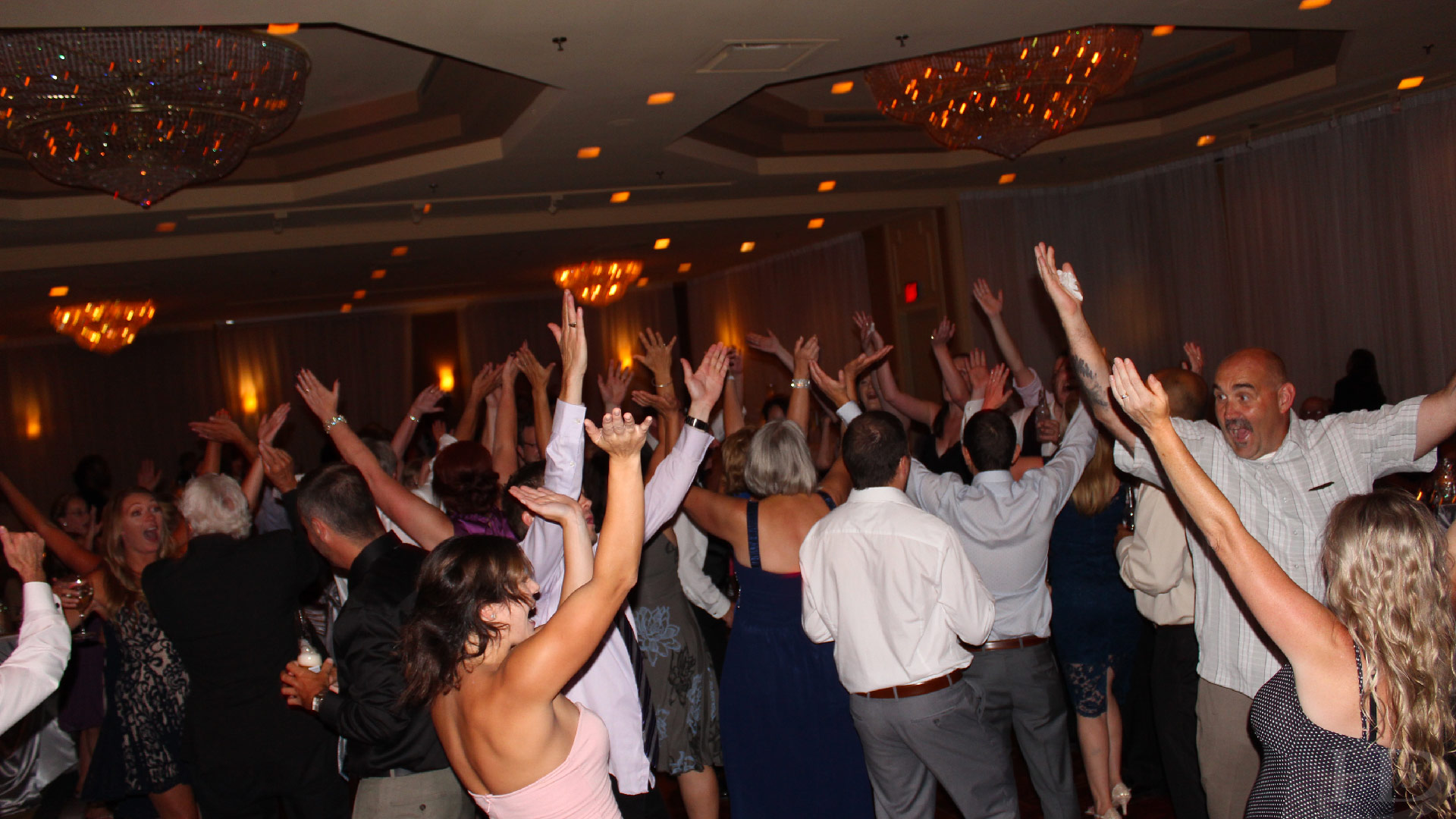 People Packed Dance Floor