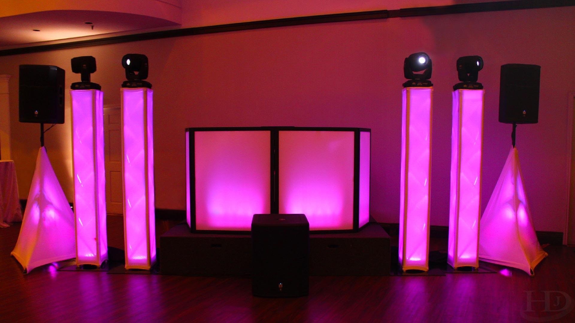 Premium Decor & DJ Setup